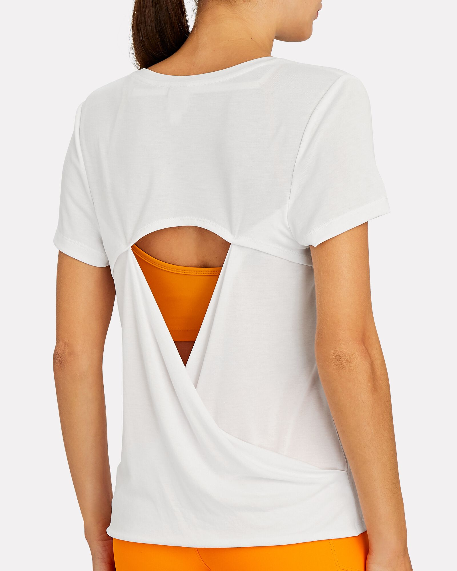 Adel Cut-Out T-Shirt, WHITE, hi-res