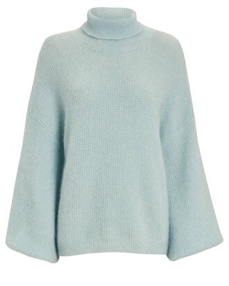 Brenda Turtleneck Sweater, BLUE-LT, hi-res