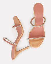 Gilda Crystal-Embellished Sandals, BEIGE, hi-res