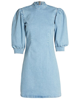 Cult Denim Mini Dress, DENIM-LT, hi-res