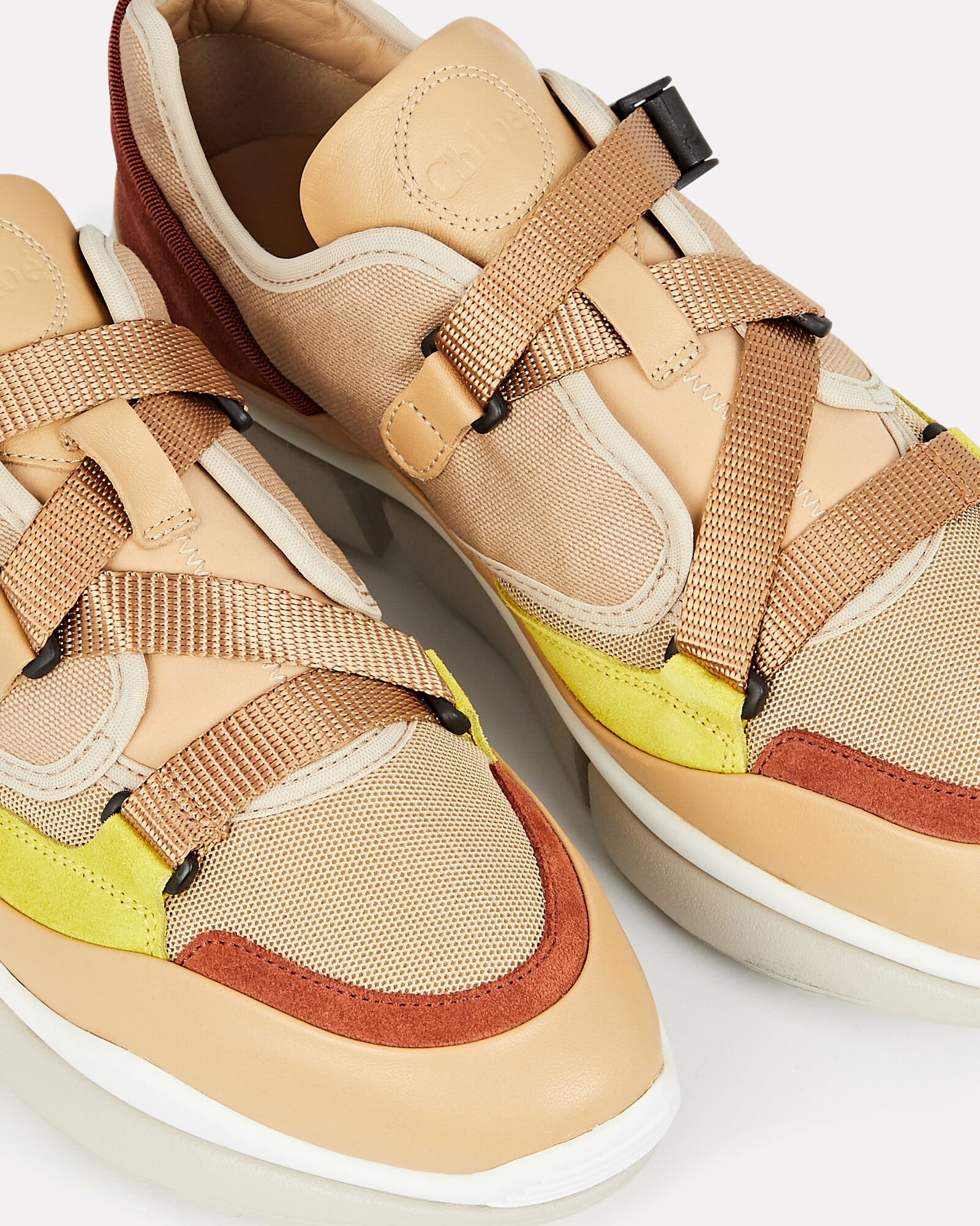 Sonnie Leather Low-Top Sneakers, BLUSH, hi-res