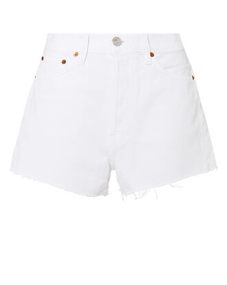 Hollywood White Shorts, IVORY, hi-res