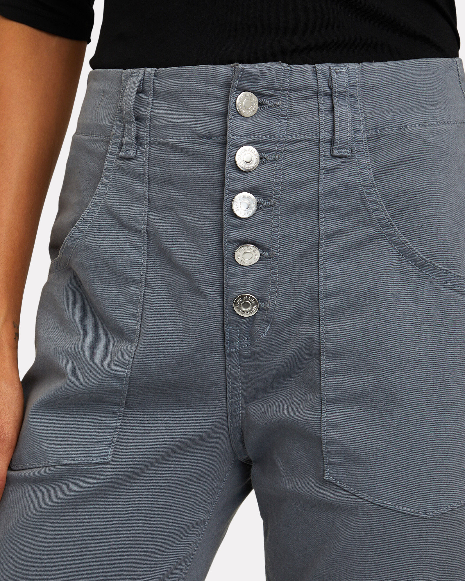 Arya Straight-Leg Cargo Pants, GREY, hi-res