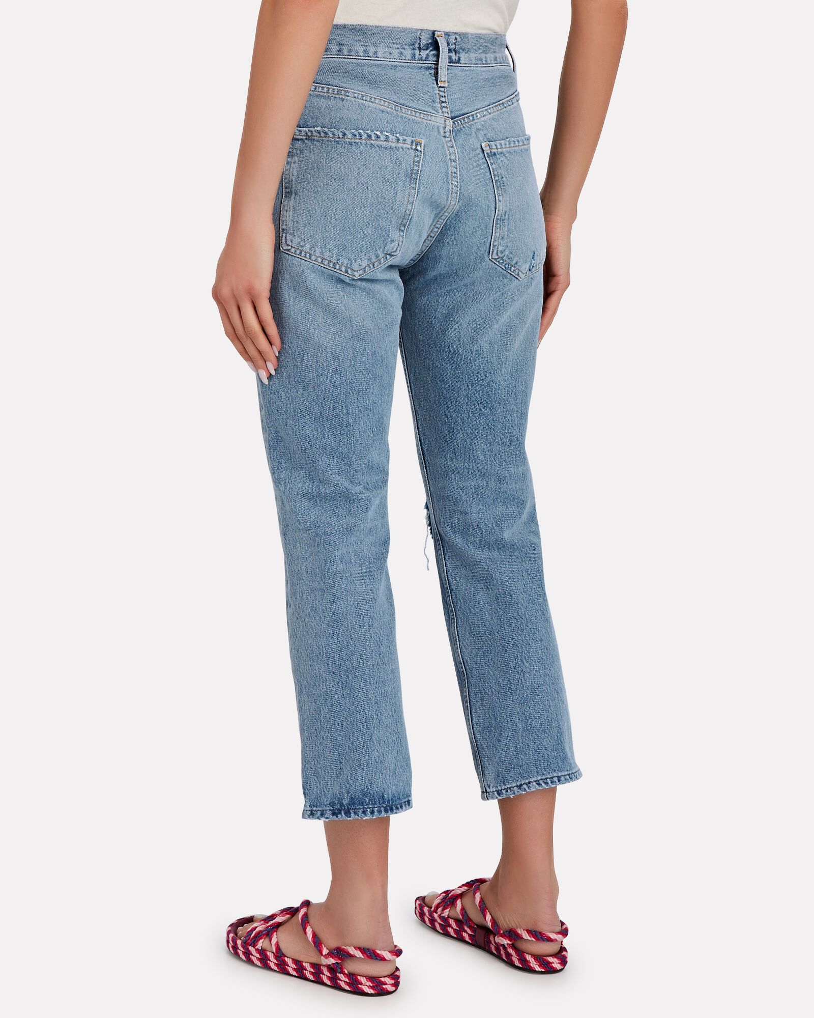 Riley High-Rise Cropped Jeans, ENDEAVOR, hi-res
