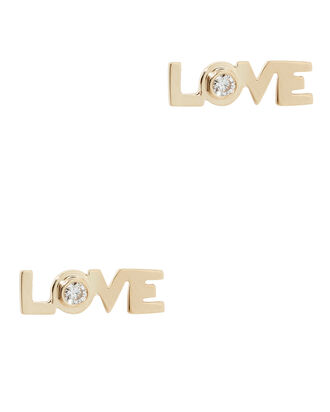 Love Studs, GOLD, hi-res