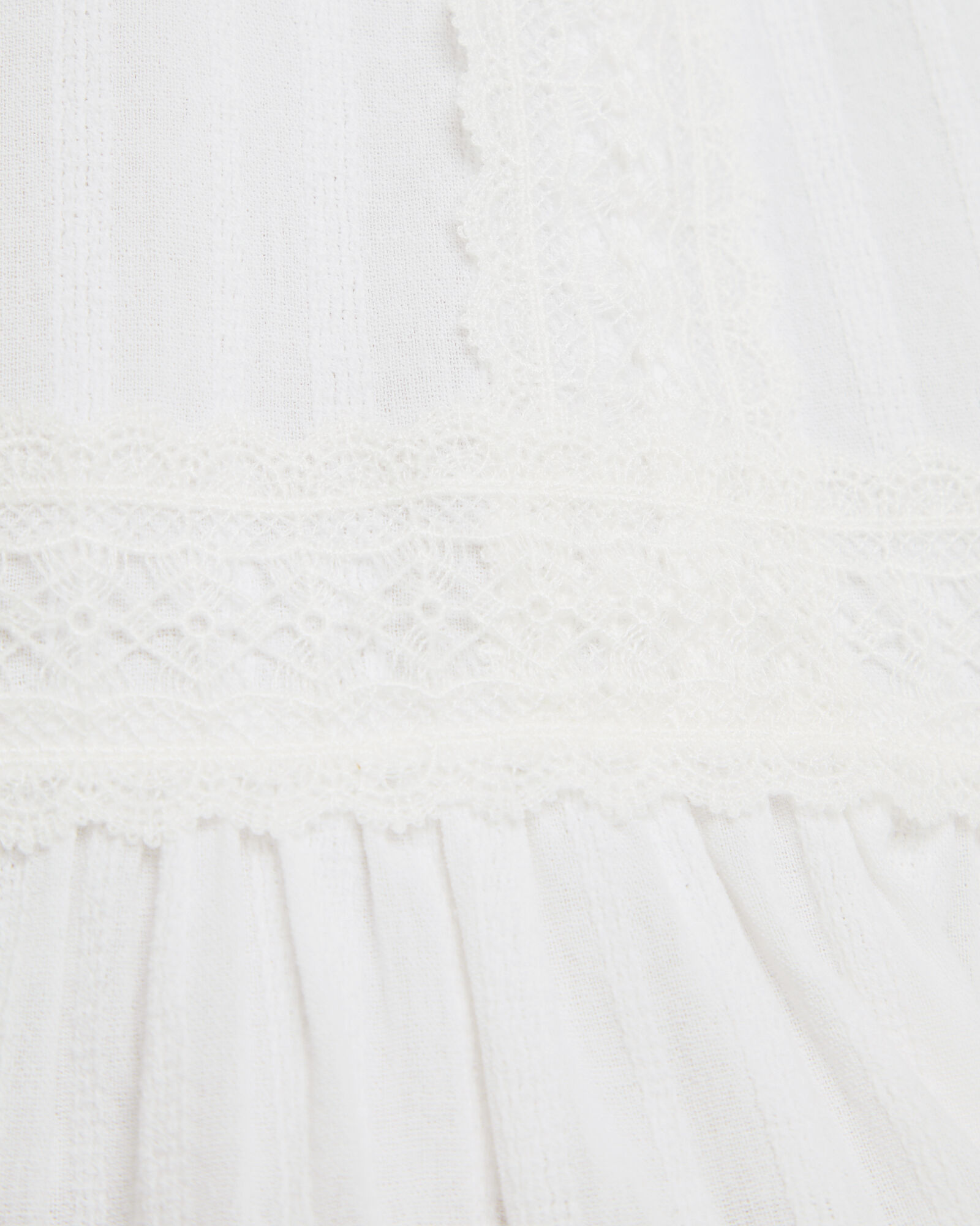 Jolene Lace Mini Skirt, WHITE, hi-res