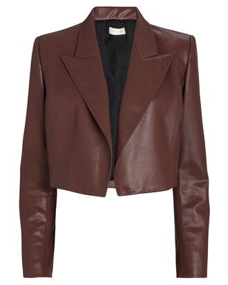 Hadley Vegan Leather Blazer, , hi-res