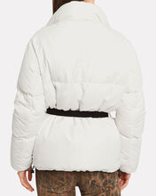 New Boo Belted Puffer Jacket, WINTER WHITE, hi-res