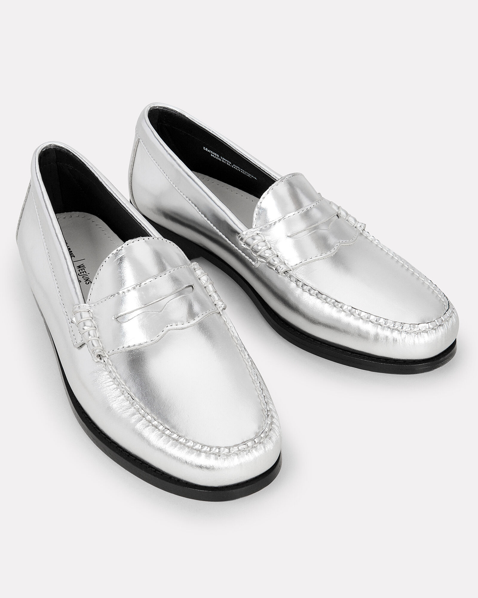 2478f8f6d41 Whitney metallic silver loafers silver jpg 1600x2000 Silver loafers