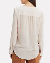 Perry Silk Blouse, IVORY, hi-res