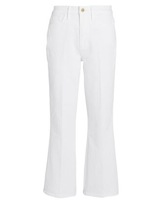 Le Sylvie Kick Boot Jeans, WHITE, hi-res