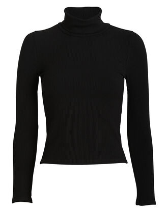 Andy Turtleneck Top, BLACK, hi-res