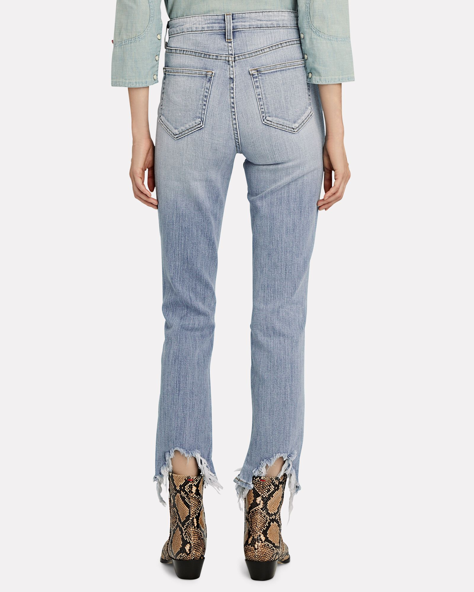 High Line Distressed Skinny Jeans, BRAISE, hi-res