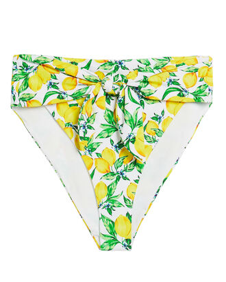Riviera High-Waisted Bikini Bottoms, MULTI, hi-res