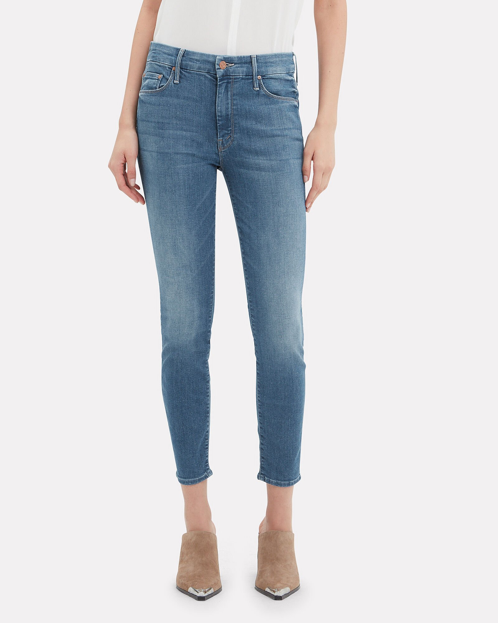 Looker Ankle Skinny Jeans, DENIM, hi-res