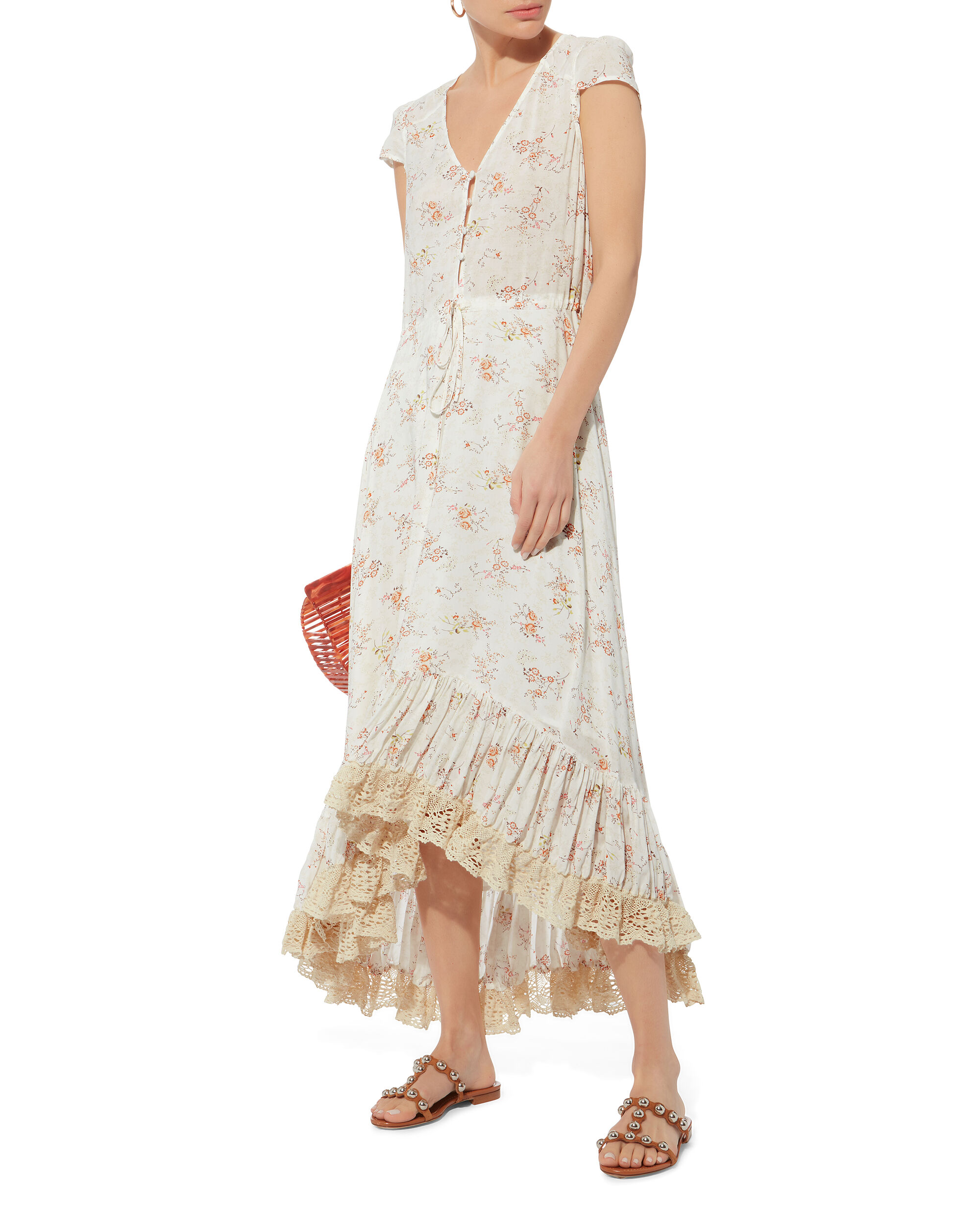 Luna Floral Maxi Dress, MULTI, hi-res