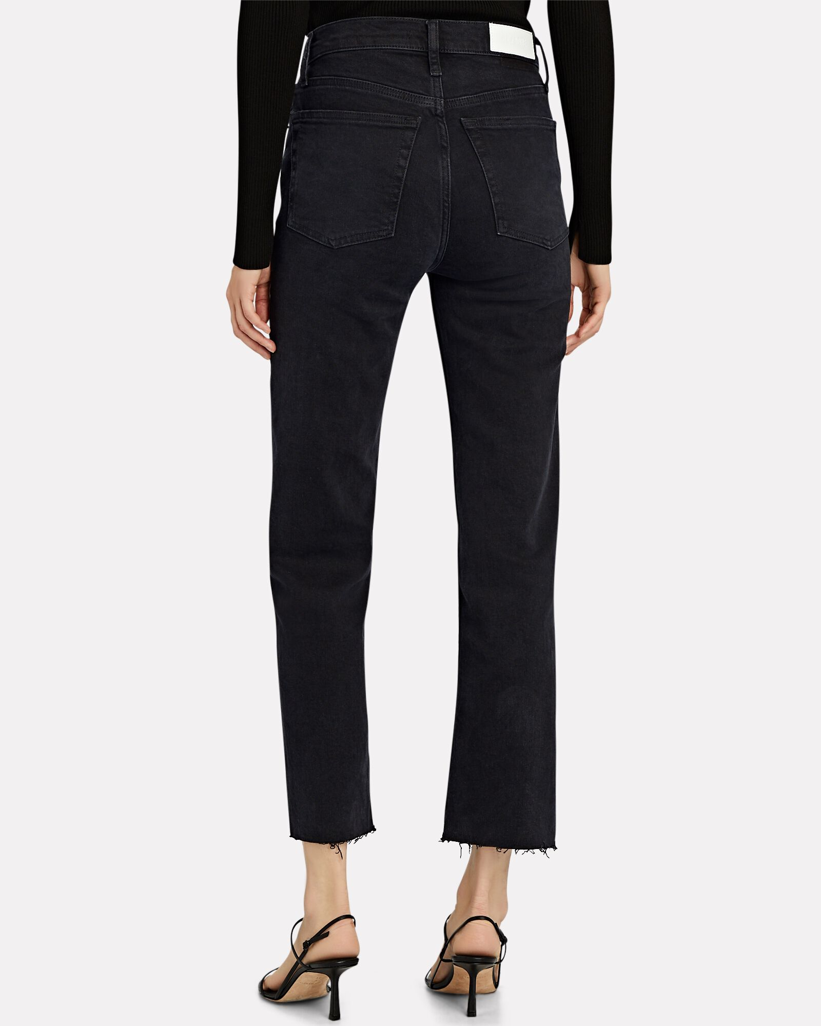 70s High-Rise Stove Pipe Jeans, FADED BLACK 85, hi-res