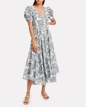 Andy Voile Floral Dress, MULTI, hi-res