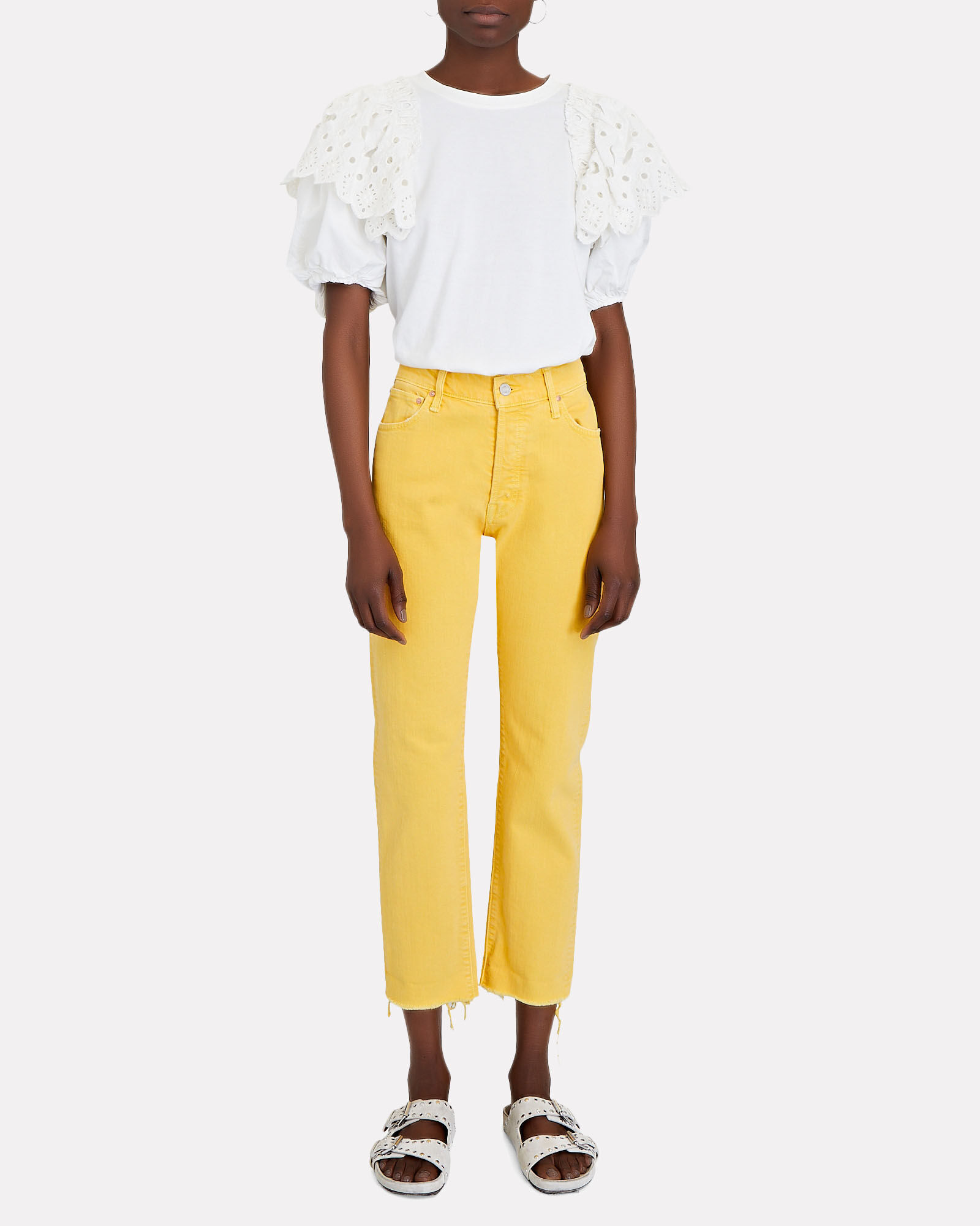 The Scrapper Straight-Leg Jeans, OLD GOLD, hi-res
