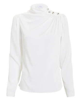 Charity Blouse, WHITE, hi-res