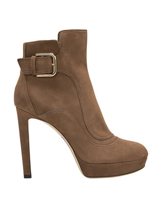 Britney Brown Suede Boots, BROWN, hi-res
