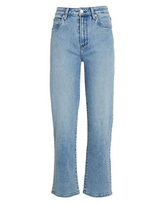 Sabine High-Rise Straight Jeans, SOLEIL, hi-res