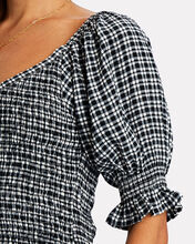 Constantia Smocked Check Mini Dress, MULTI, hi-res