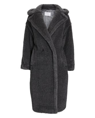 Classic Teddy Coat, GREY, hi-res