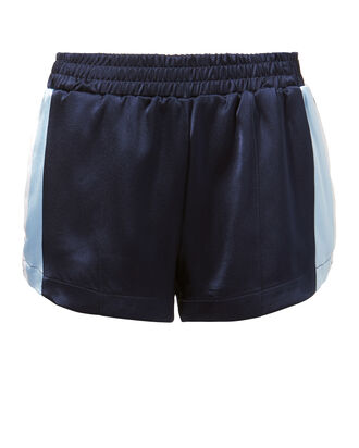 Striped Running Shorts, NAVY, hi-res