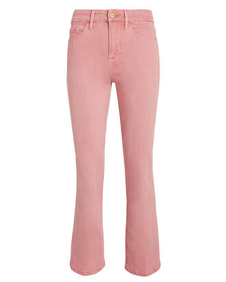 Le Crop Mini Boot Jeans, PINK DENIM, hi-res