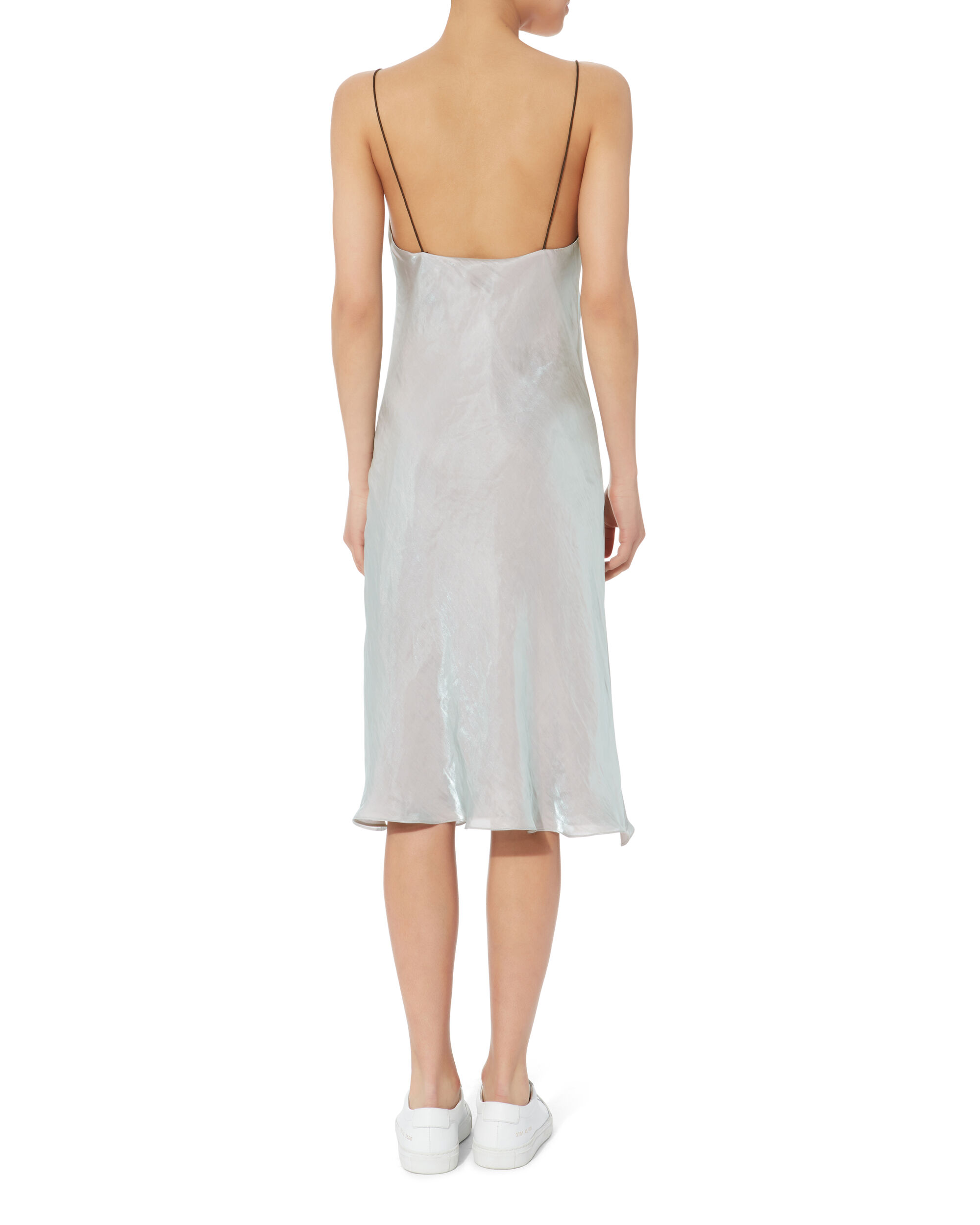 Astrid Irridescent Slip Dress, BLUE-LT, hi-res
