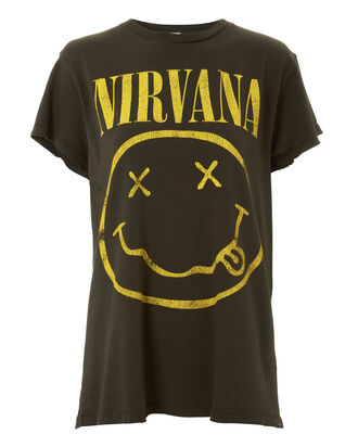 Nirvana Graphic Tee, BLACK, hi-res