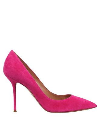 Purist 95 Suede Pumps, MAGENTA, hi-res