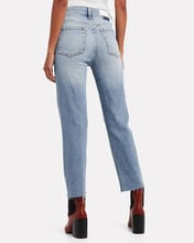 High-Rise Stovepipe Jeans, LIGHT STONE, hi-res
