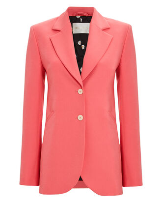 Florence Tailored Crepe Blazer, ROSE, hi-res