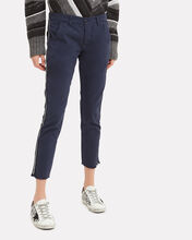 Side Tape Trousers, NAVY, hi-res