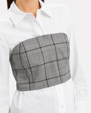 Corset Combo Shirt, GREY, hi-res