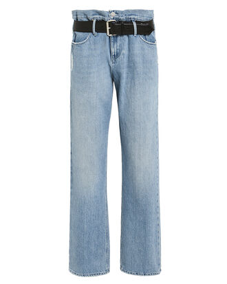 Dexter Clean Blue Jeans, LIGHT WASH DENIM, hi-res