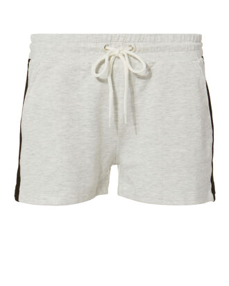 Colorblock Shorts, IVORY, hi-res