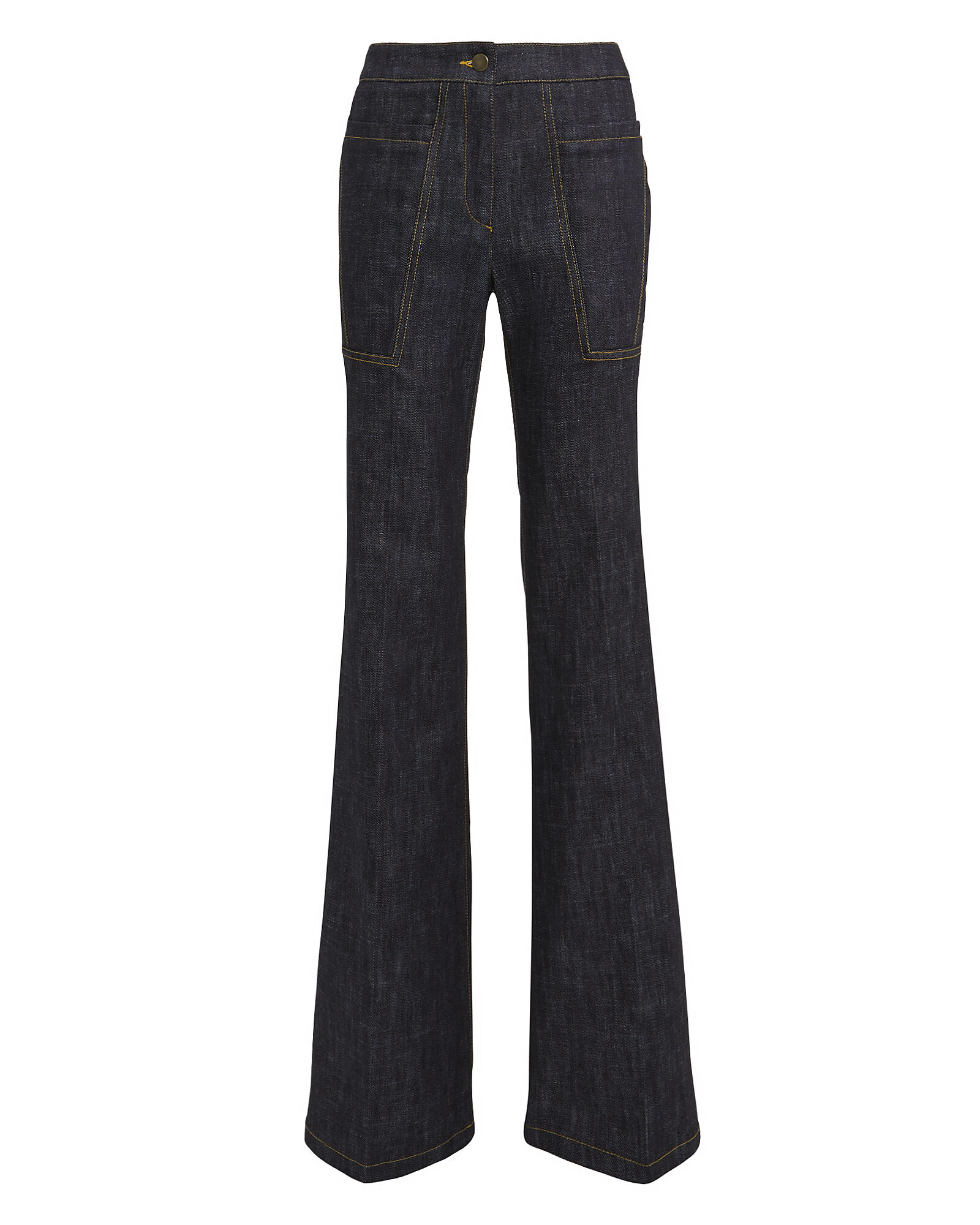Charlotte Flare Jeans, DARK WASH DENIM, hi-res