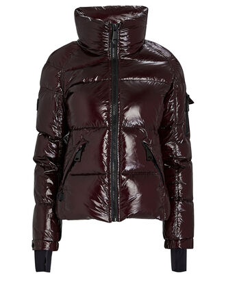Freestyle Down Puffer Jacket, MERLOT, hi-res