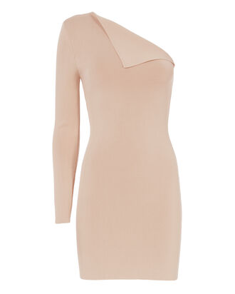 Axis Sleeve Knit Dress, PINK, hi-res