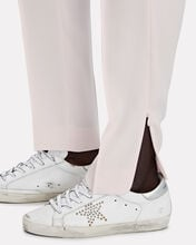 Dahlia Pleated Crepe Trousers, PINK, hi-res