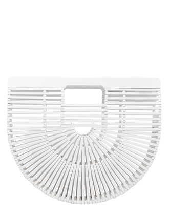 Ark Small White Acrylic Bag, WHITE, hi-res
