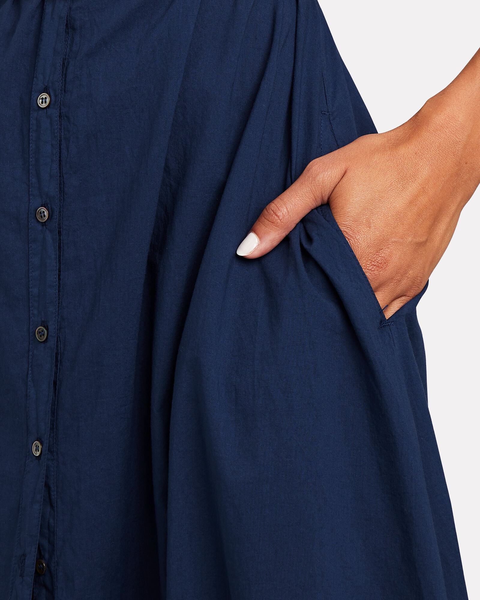 Boden Cotton Midi Shirt Dress, , hi-res