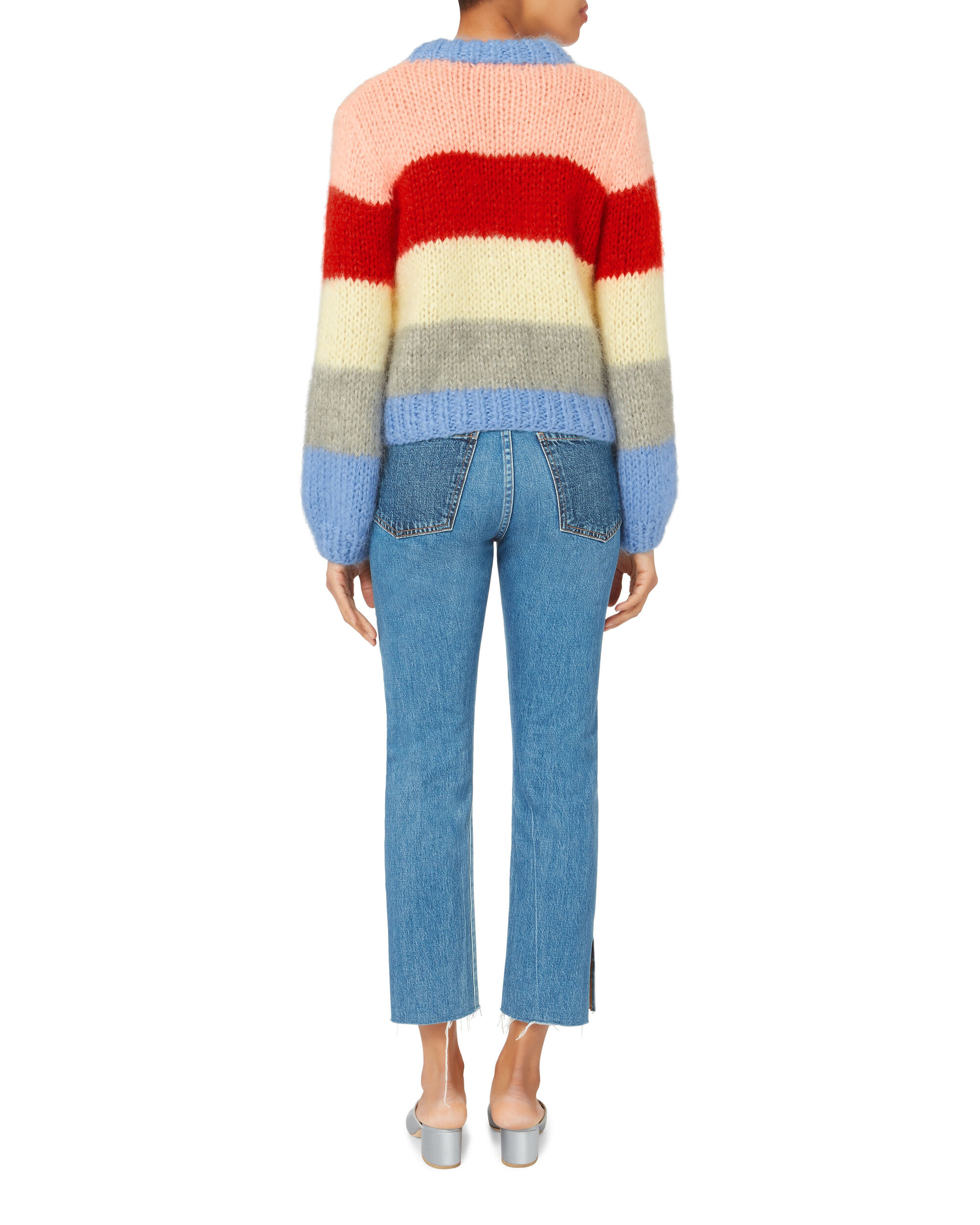 Julliard Colorblock Sweater, MULTI, hi-res