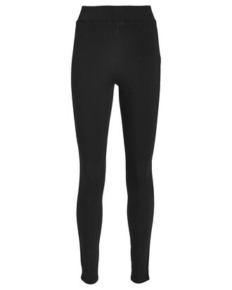Rochelle High-Rise Skinny Jeans, BLACK, hi-res