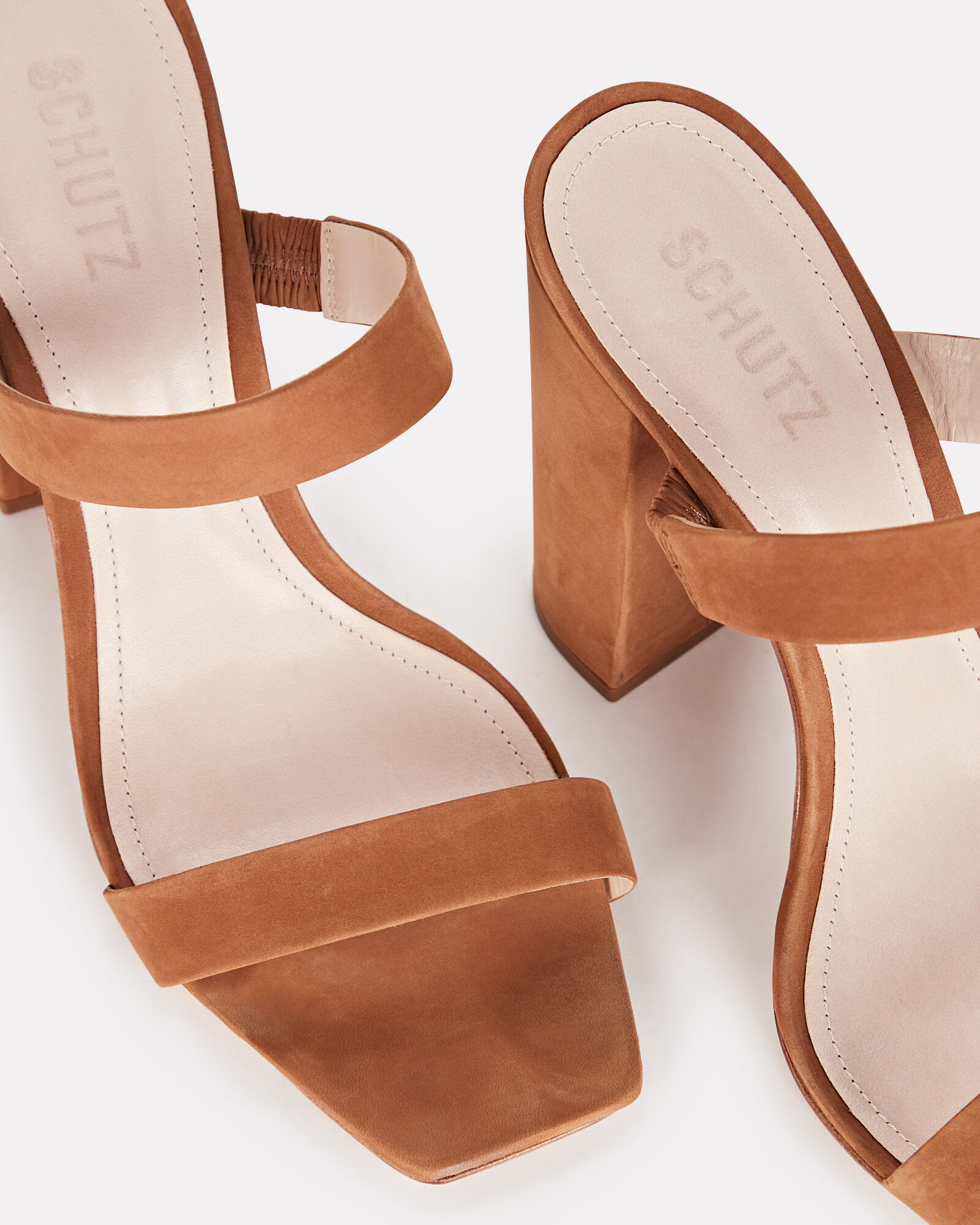 Maribel Suede Sandals, CHESTNUT, hi-res