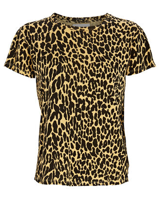 The Sinful Leopard Print T-Shirt, YELLOW/BLACK, hi-res