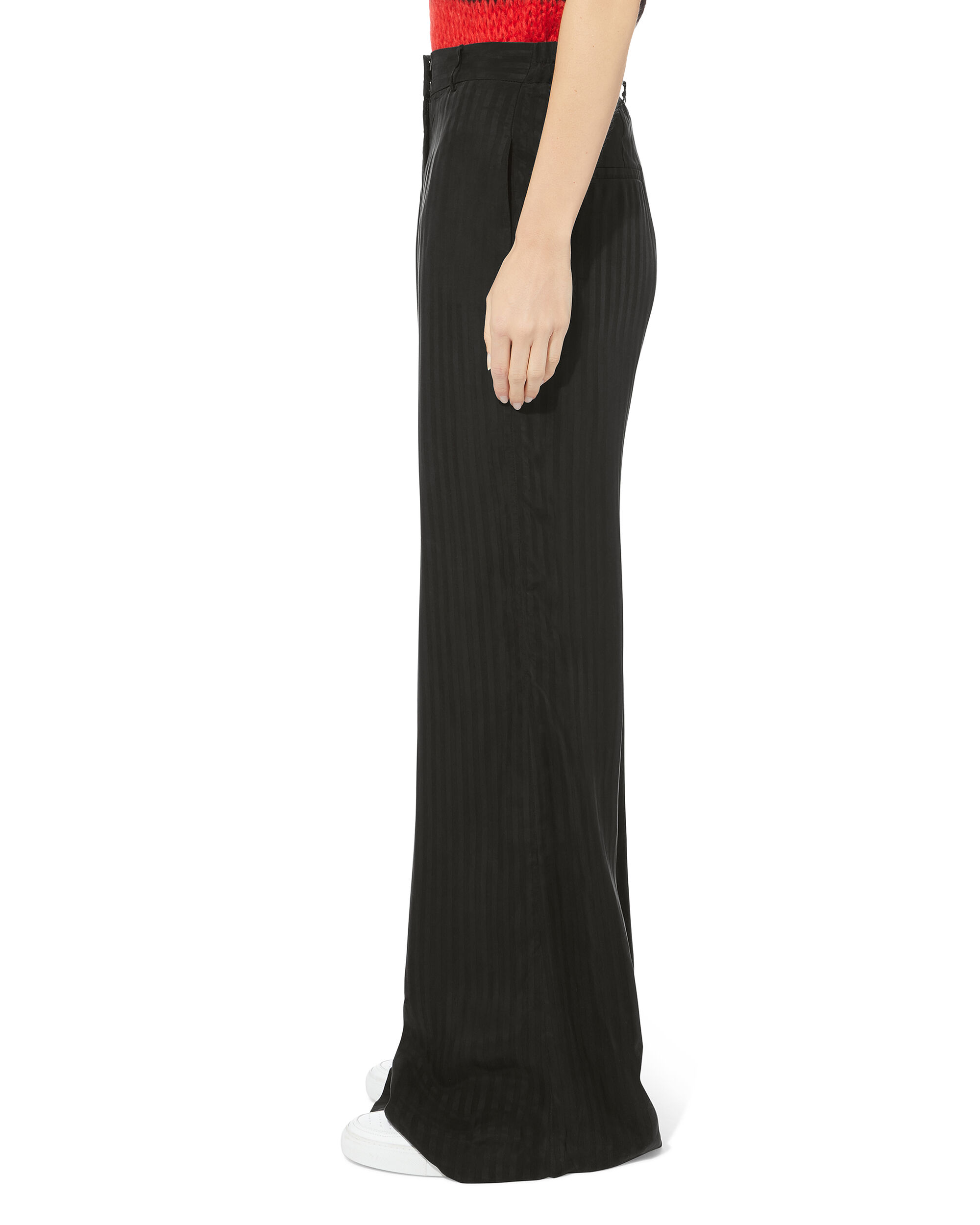 Jupiter Wide Leg Trousers, BLACK, hi-res